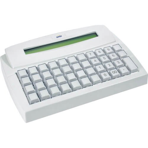 Teclado Programável Gertec TEC 44 Display Ps2