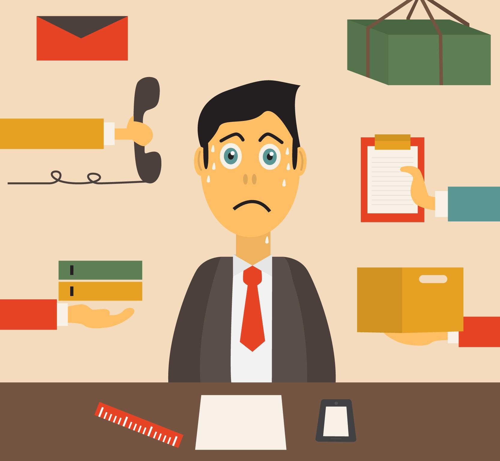 Uma tática simples para diminuir o estresse no trabalho