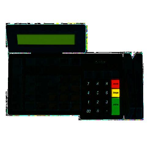 Teclado Programavel Gertec TEC 55 Display Usb