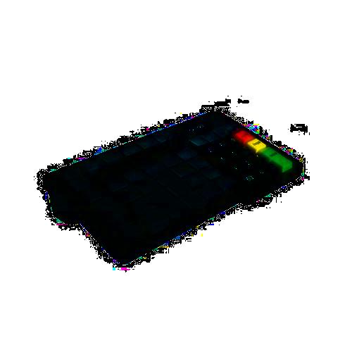 Teclado Programável Gertec TEC 55 Ps2